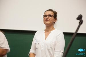 Koordynatorka Projektu KoderJunior Szkoła Mistrzów Programowania Pomorskie – Ewelina Czajkowska.