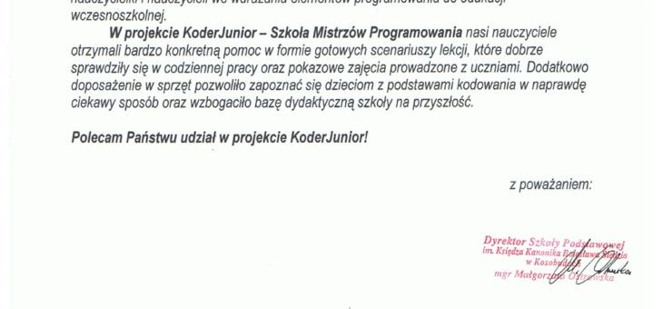 Zapraszamy do udziału w projekcie szkoły z regionu słupskiego oraz Trójmiasta i Łodzi REKOMENDACJE